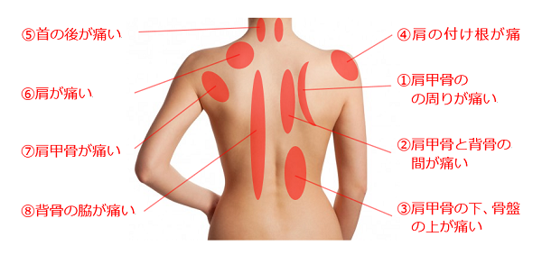 腰痛がよく起こる筋肉
