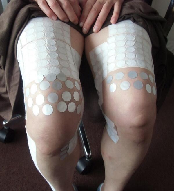 膝が痛くて正座ができない状態