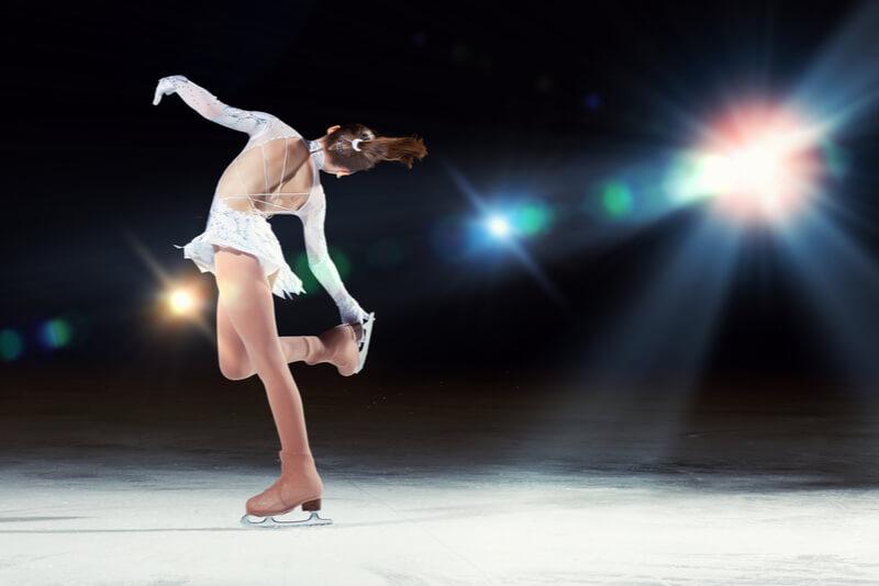 フィギュアスケーターの側湾症
